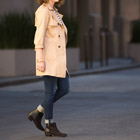 Stitch Fix on Twitter: Girl standing in trenchcoat
